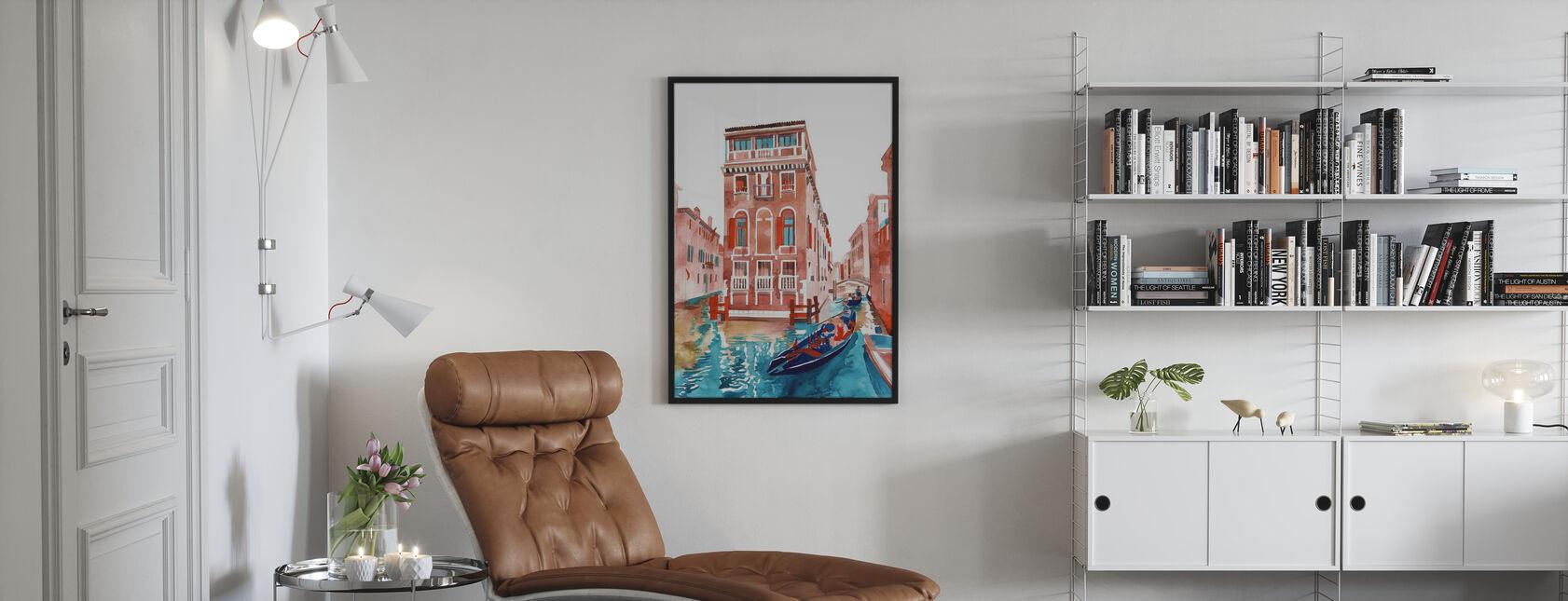 Venice Street - Poster - Living Room