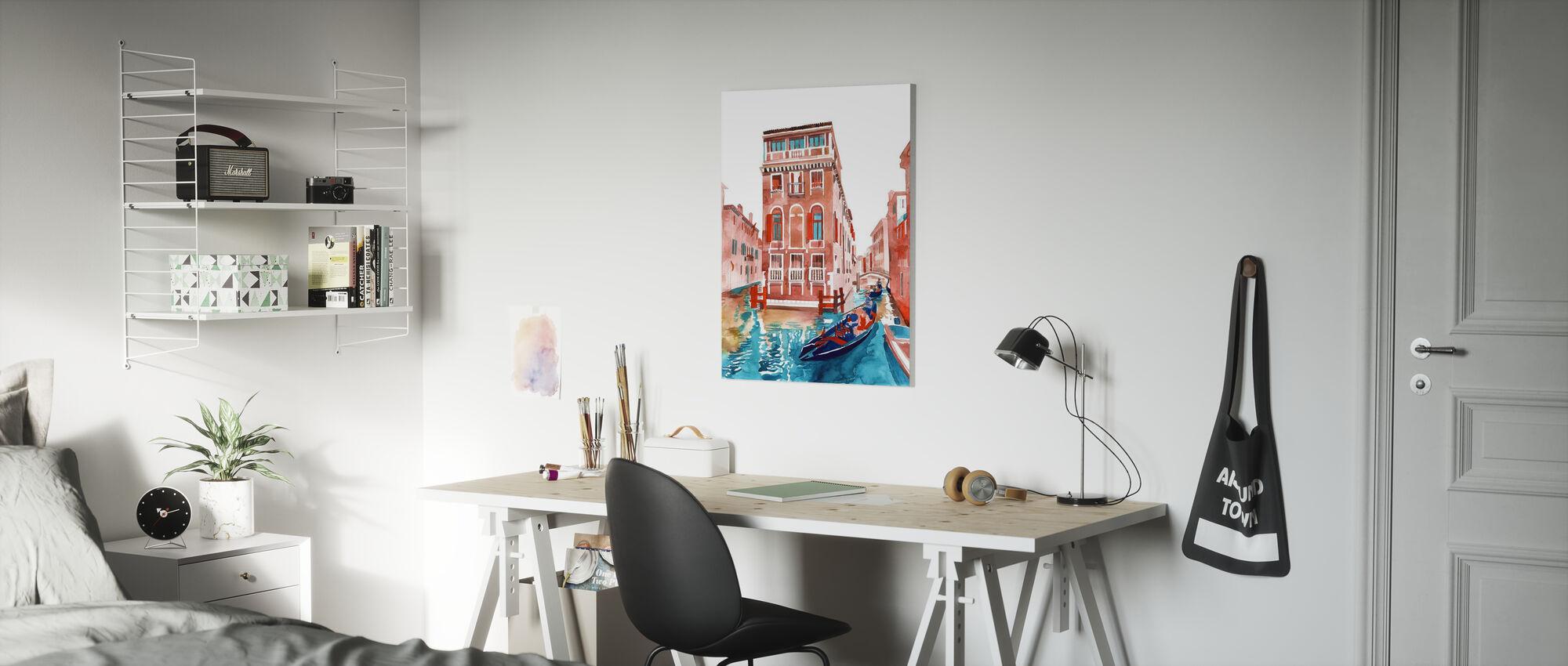 Venice Street - Canvas print - Kids Room