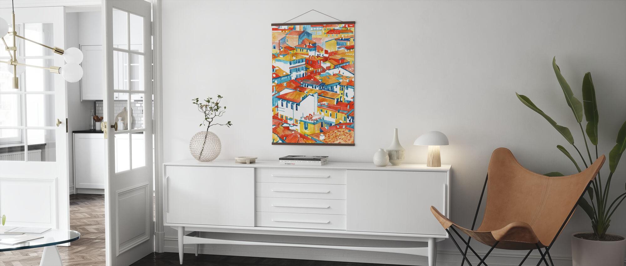 Verona Gebouwen - Poster - Woonkamer