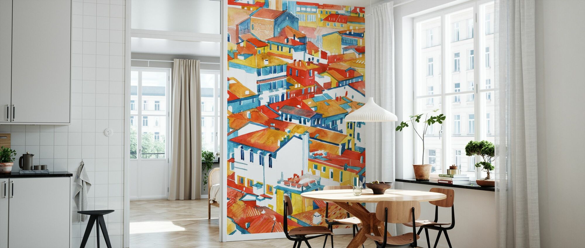Verona Buildings - Wallpaper - Kitchen