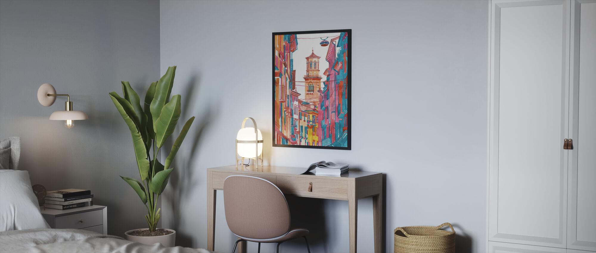 Verona Street - Poster - Bedroom