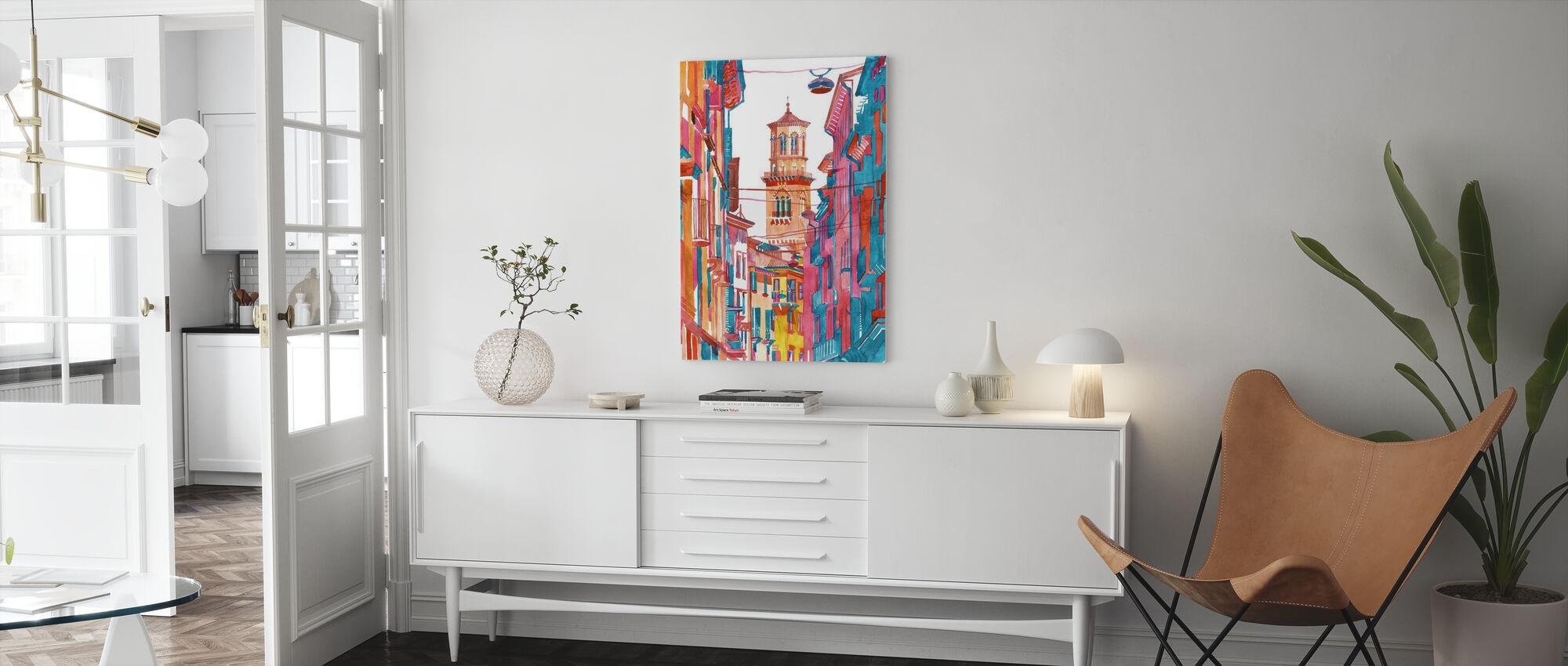 Verona Street - Canvas print - Living Room