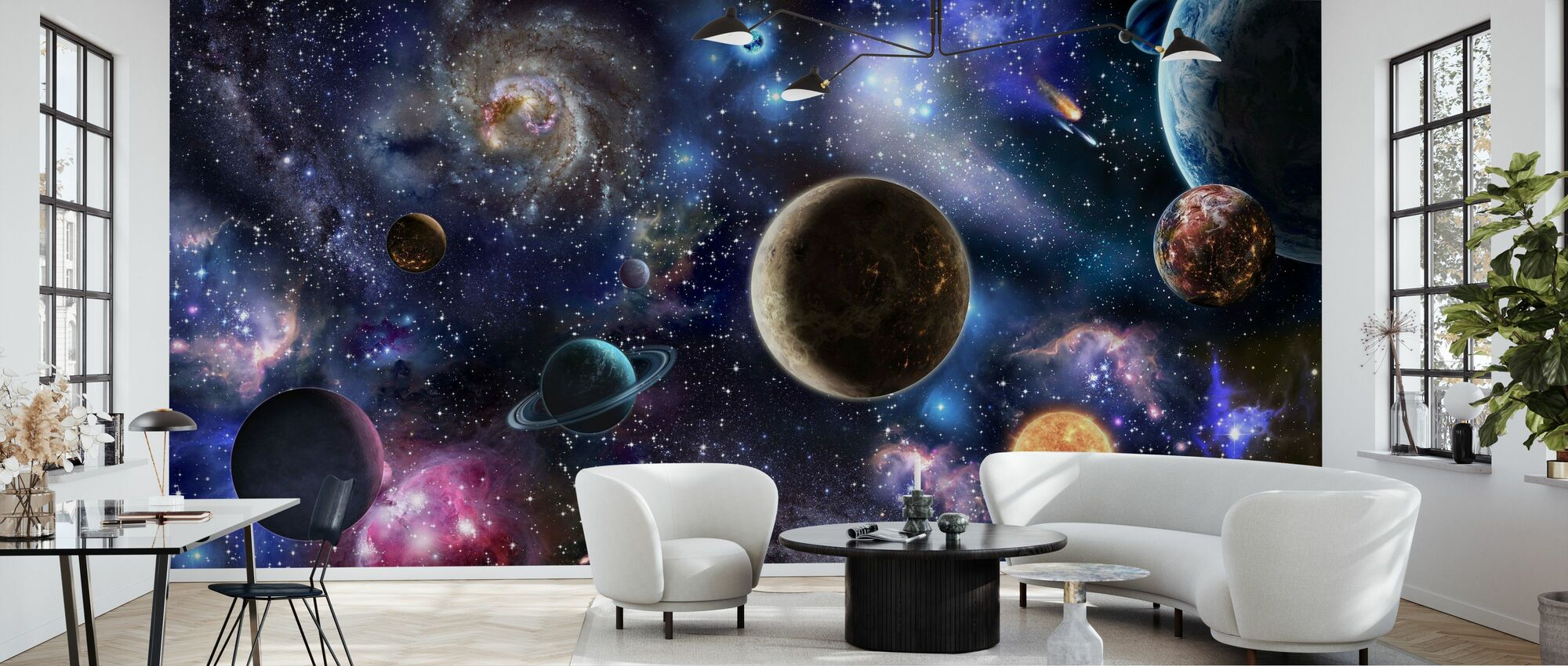 Amazing Space - Wallpaper - Living Room