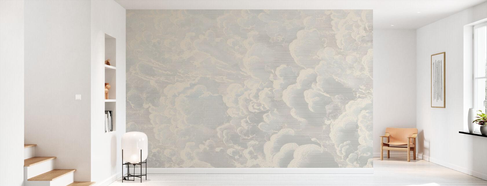 Cradled in Clouds - Wallpaper - Hallway