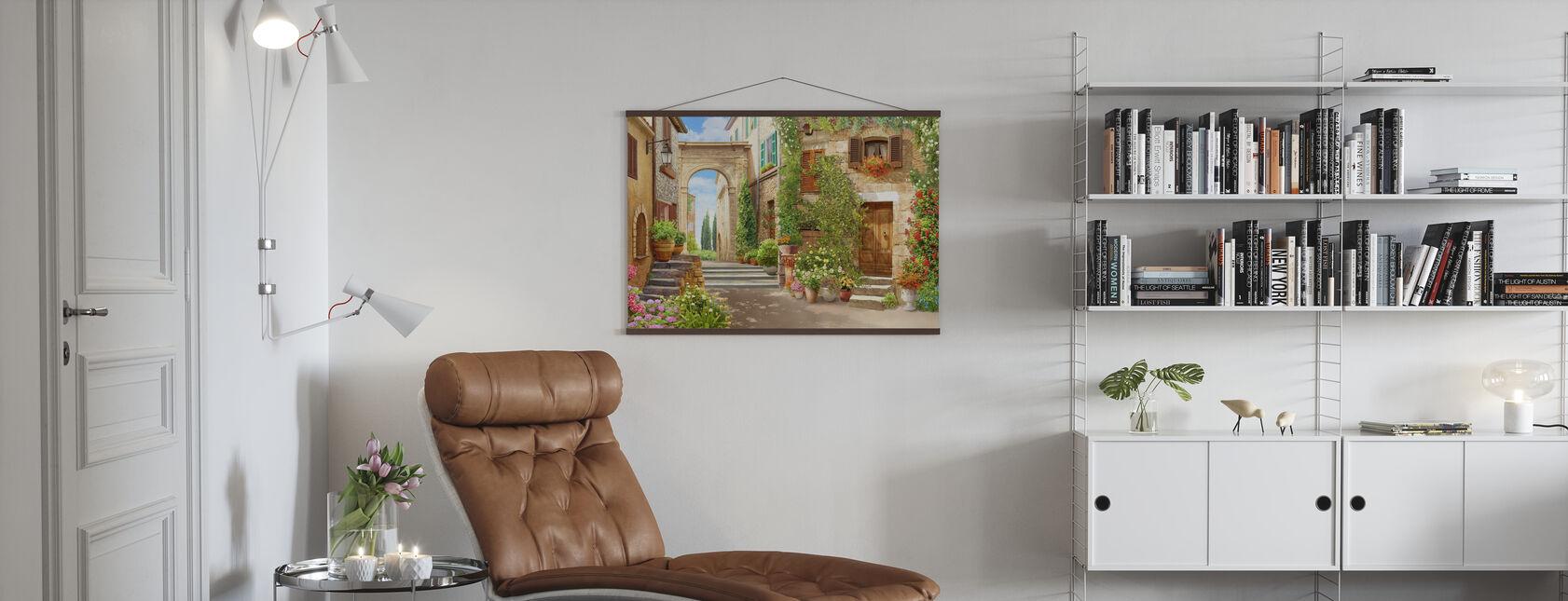 Courtyard II - Poster - Living Room