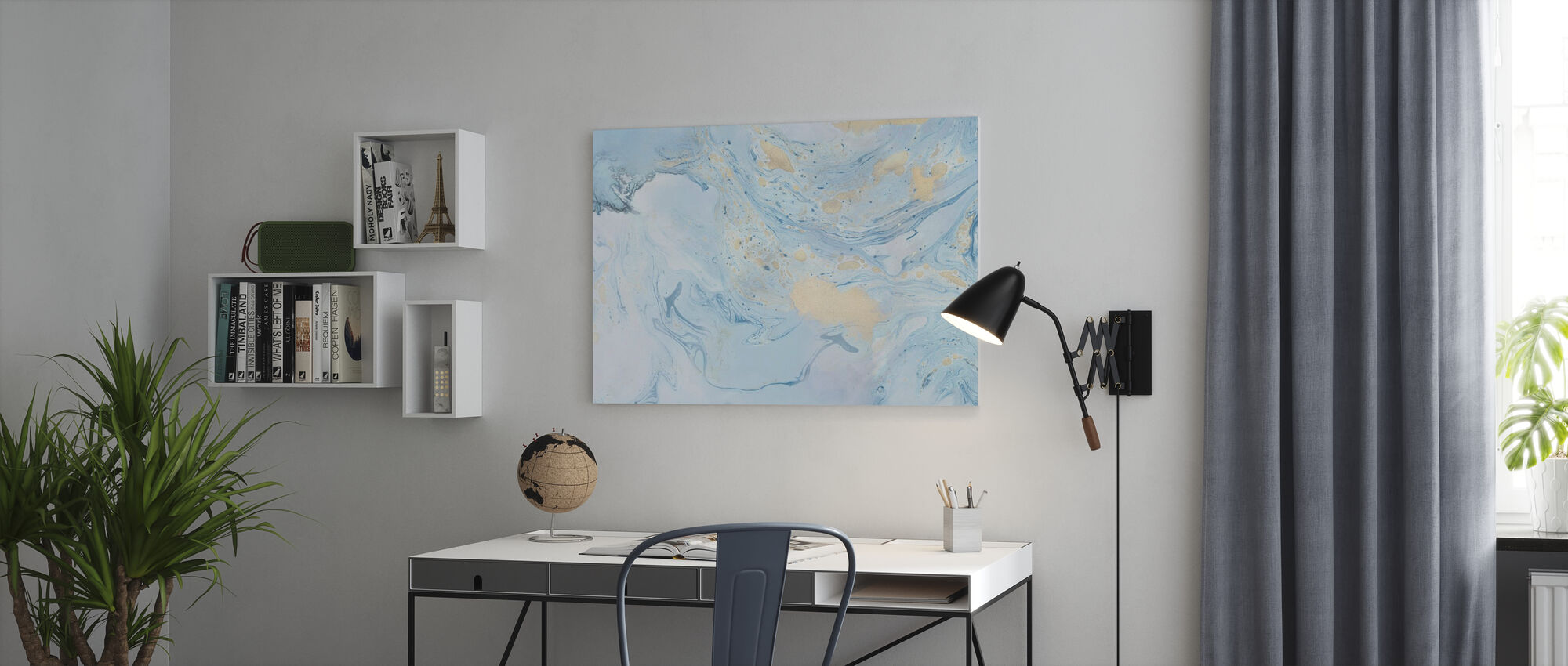 Marble Story - Canvas print - Office