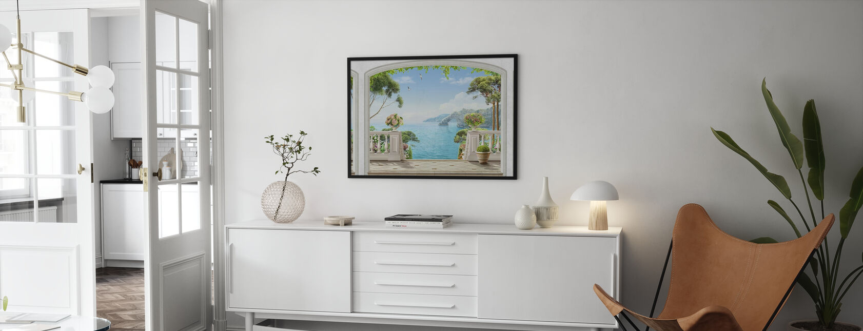 Terrace Sea View - Poster - Living Room