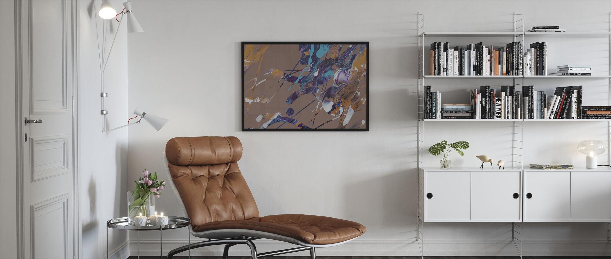 Acrylic Passion - Hazel - Poster - Living Room