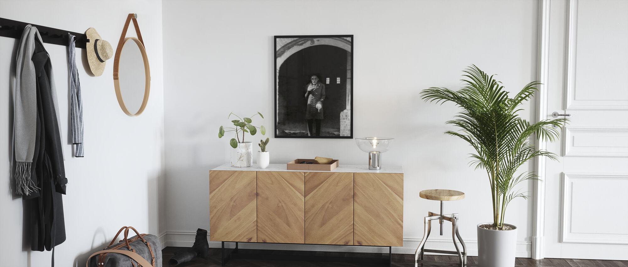 Vampire - Max Schreck - Framed print - Hallway