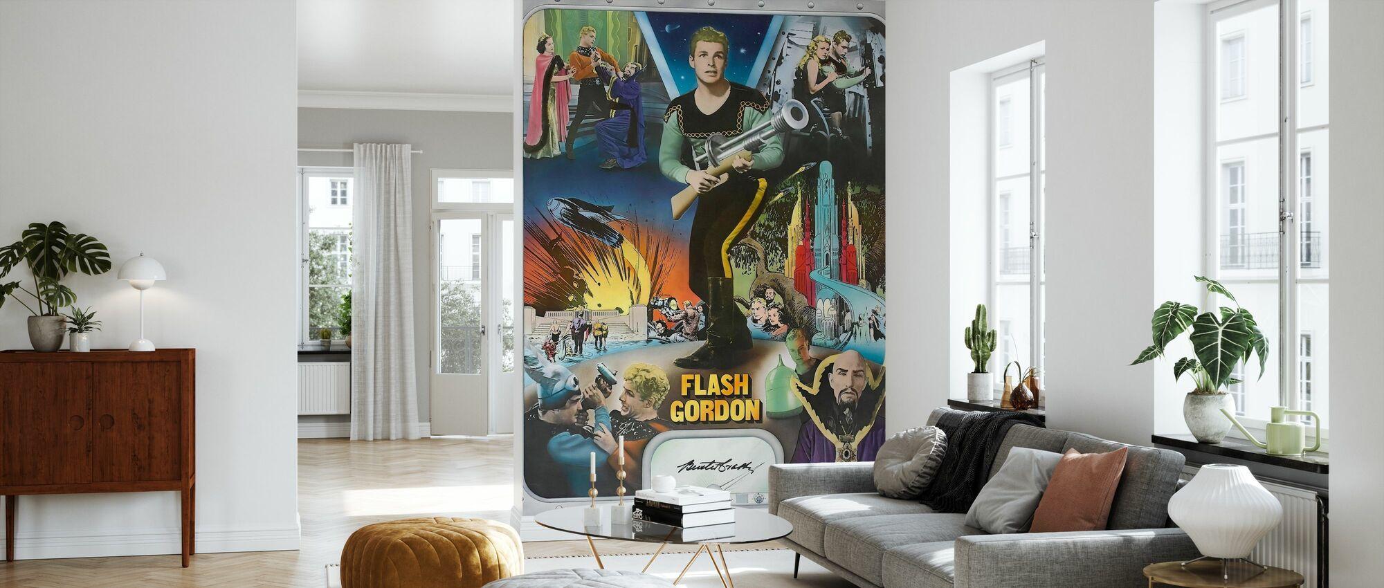 Flash Gordon - Ray Taylor and Frederick Stephani - Wallpaper - Living Room