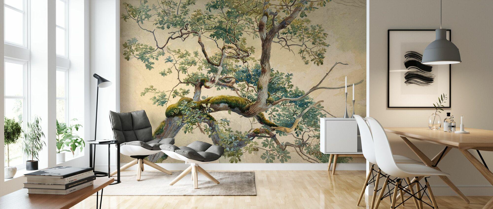 Tree Branch Art - Charles Reginald Aston - Wallpaper - Living Room