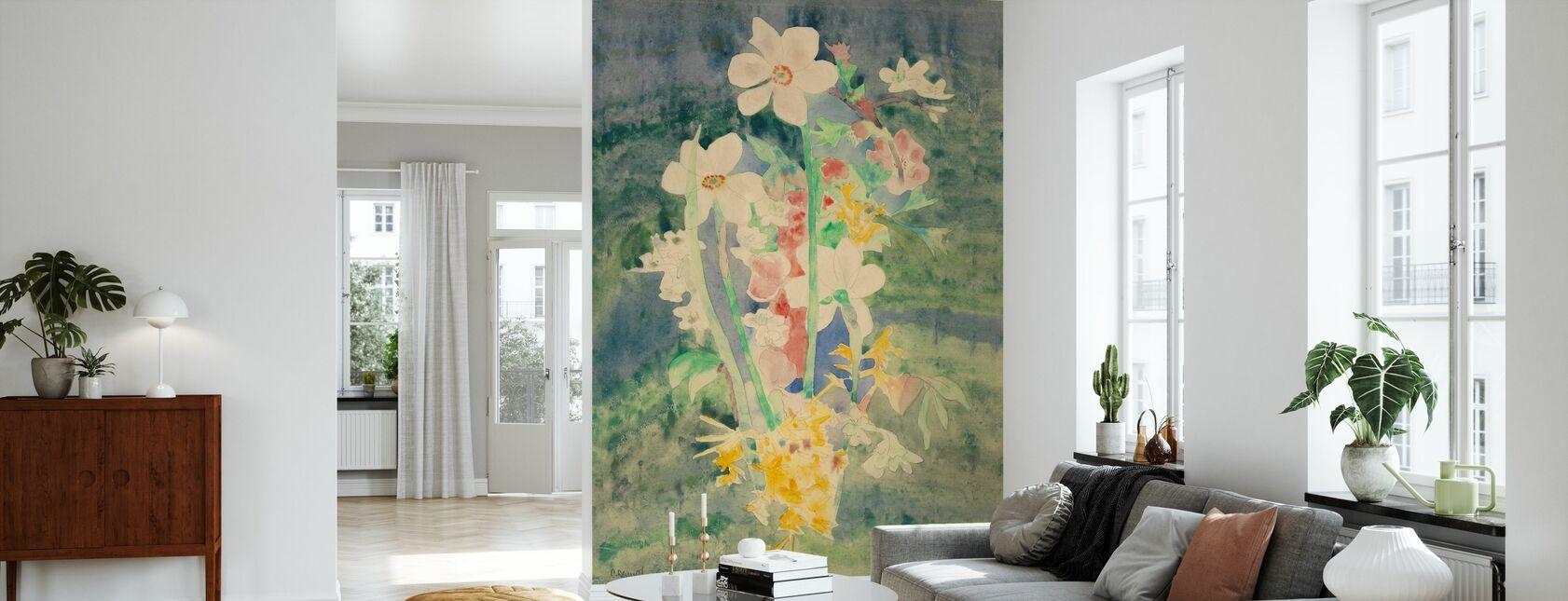 Narcissi - Charles Demuth - Papel pintado - Salón