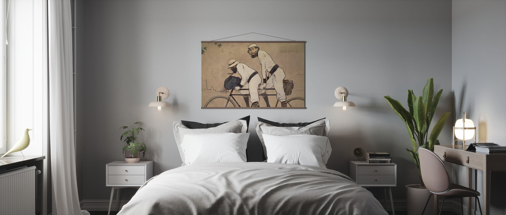 Ramon Casas and Pere Romeu - Poster - Bedroom