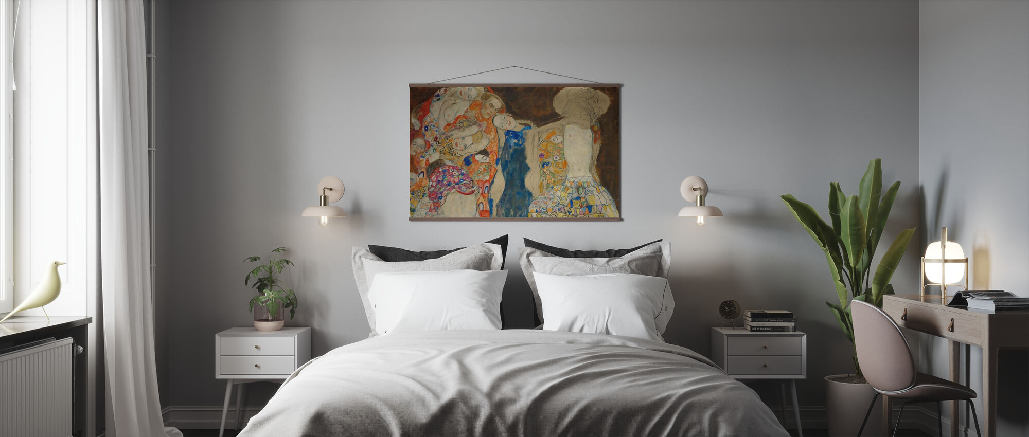Bride - Gustav Klimt - Poster - Bedroom