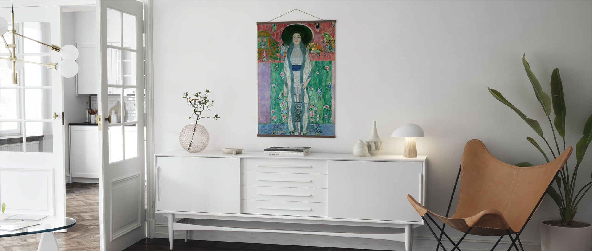 Portrait of Adele Bloch-Bauer - Gustav Klimt - Poster - Living Room