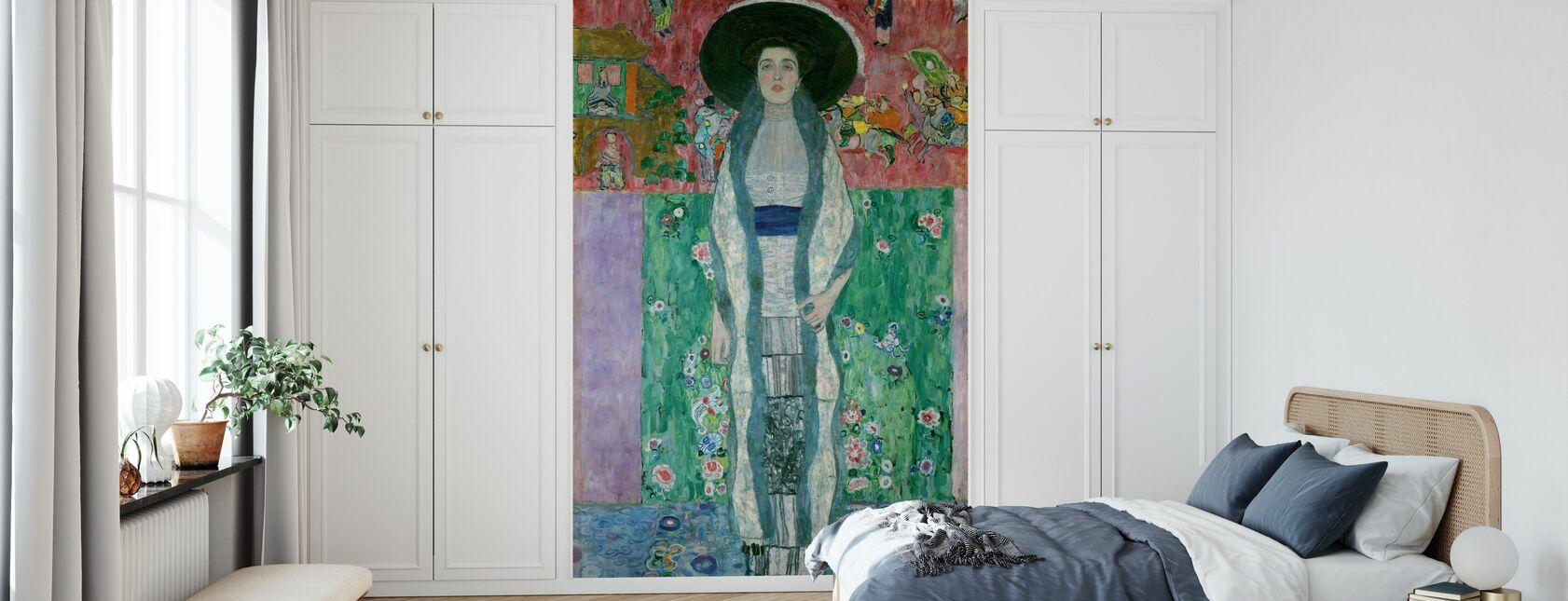 Portrait of Adele Bloch-Bauer - Gustav Klimt - Wallpaper - Bedroom