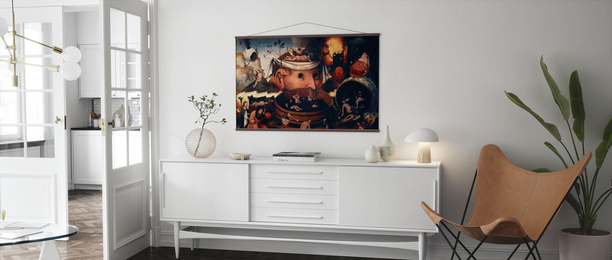 Vision von Tondal - Poster - Wohnzimmer