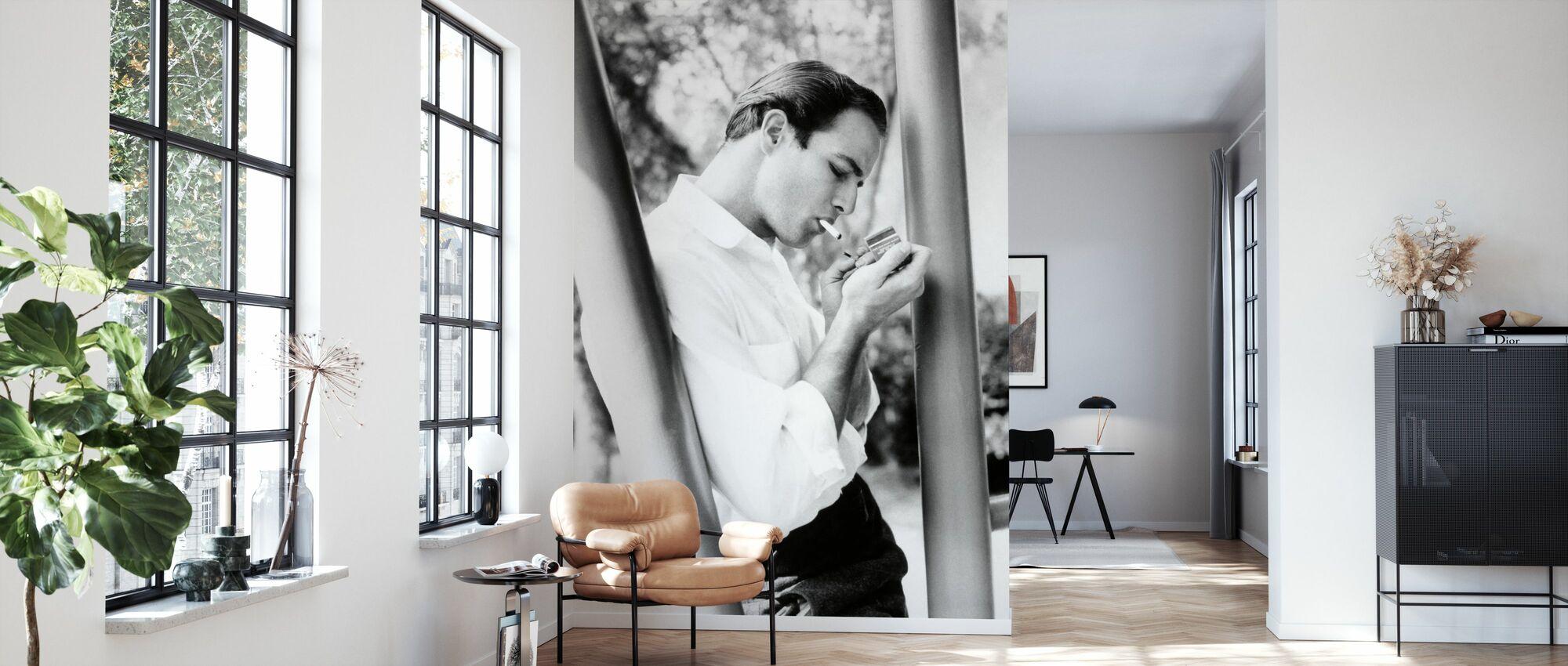 Marlon Brando - Tapet - Stue