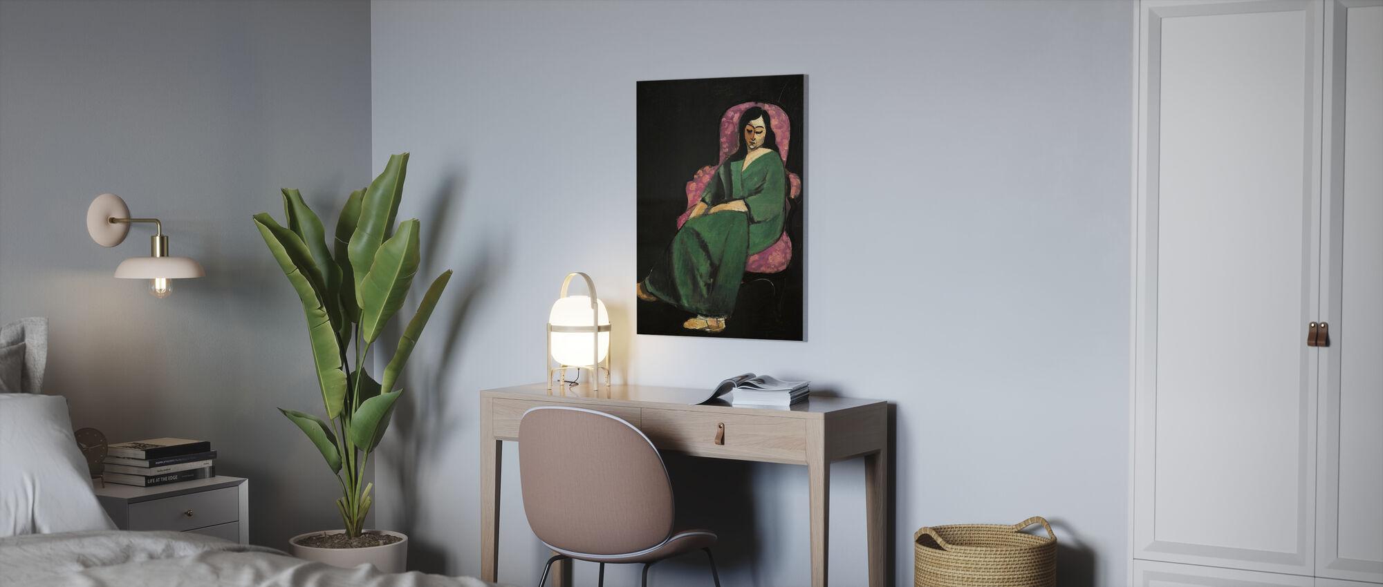 Dienstmeisjes verhaal - Henri Matisse - Canvas print - Kantoor
