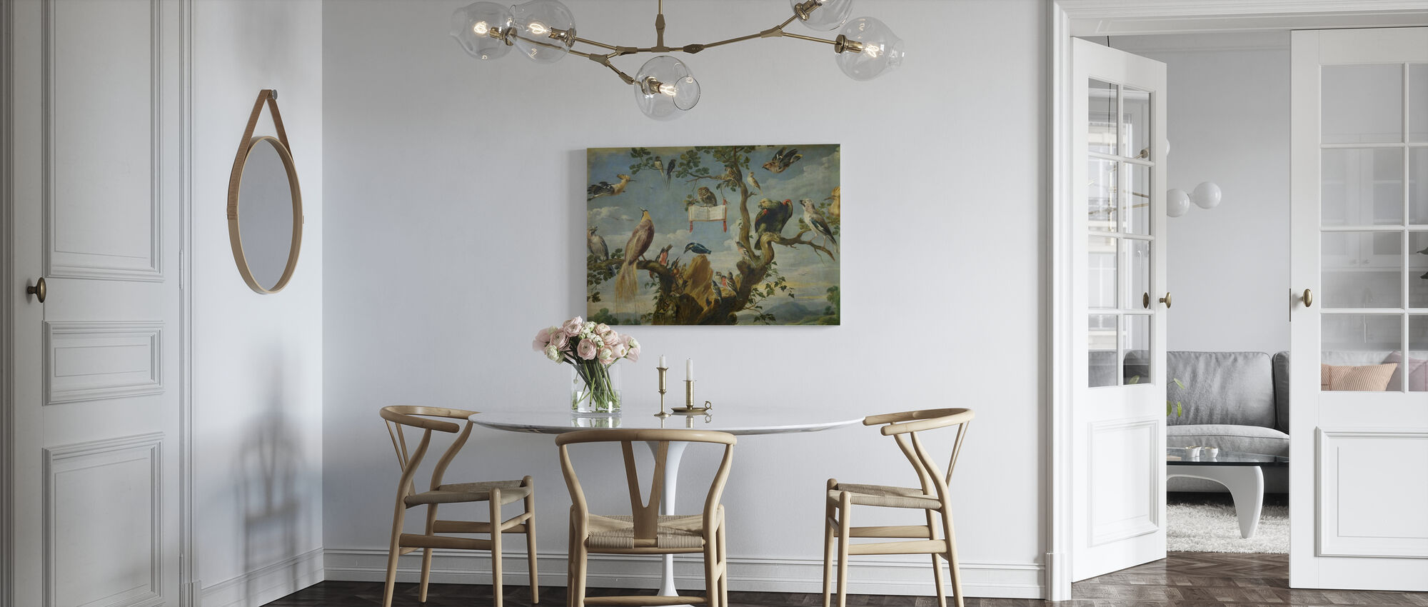 Concert of the Birds - Frans Snyders - Canvas print - Kitchen