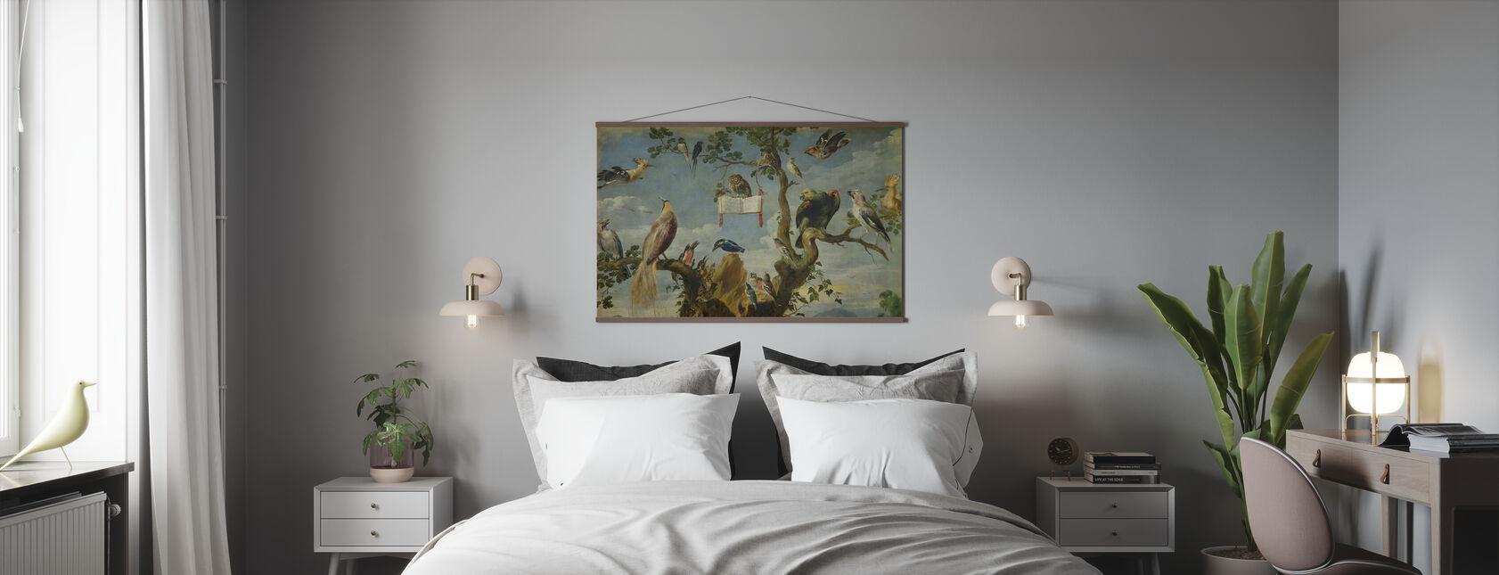 Concert of the Birds - Frans Snyders - Poster - Bedroom