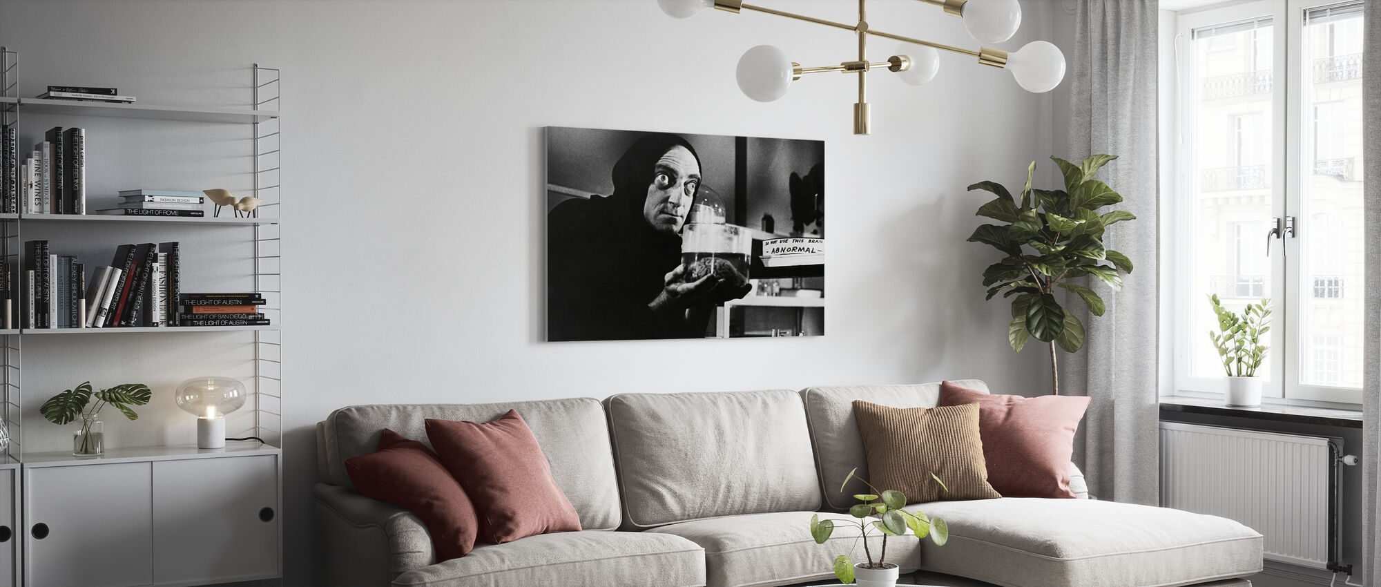Young Frankenstein - Marty Feldman - Canvas print - Living Room