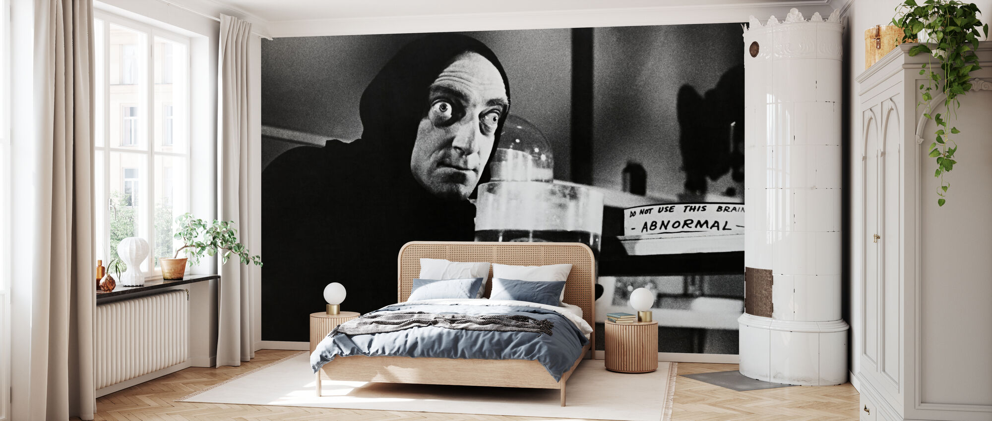 Junger Frankenstein - Marty Feldman - Tapete - Schlafzimmer