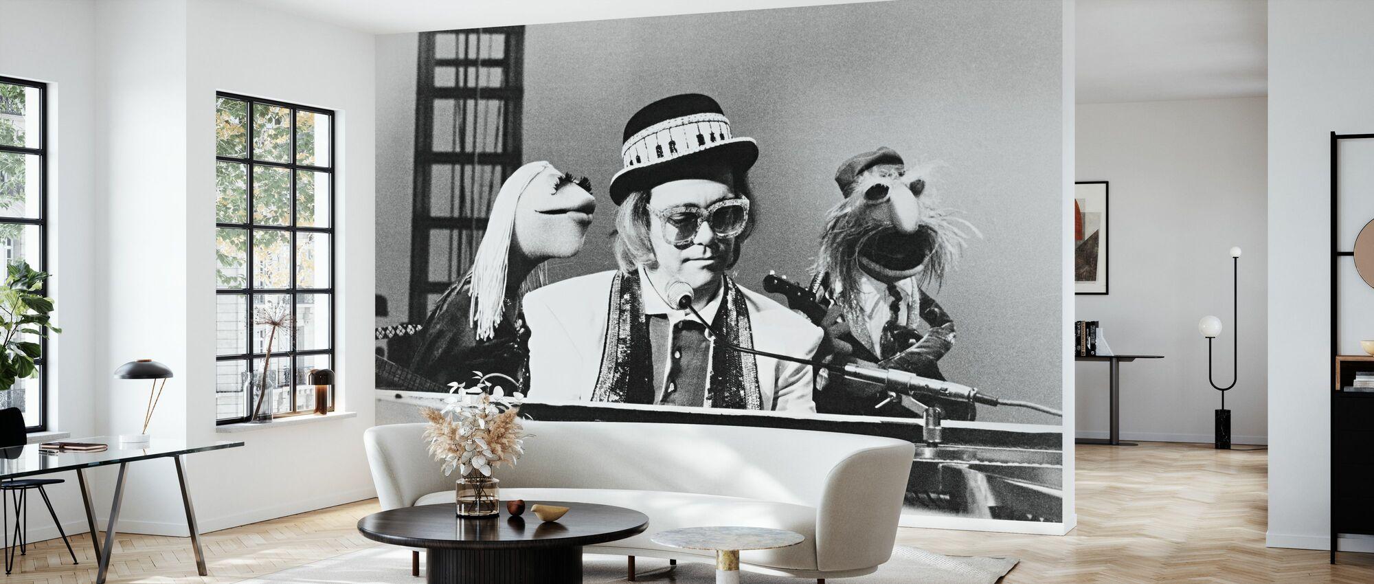 Mupparna Show - Elton John - Tapet - Vardagsrum