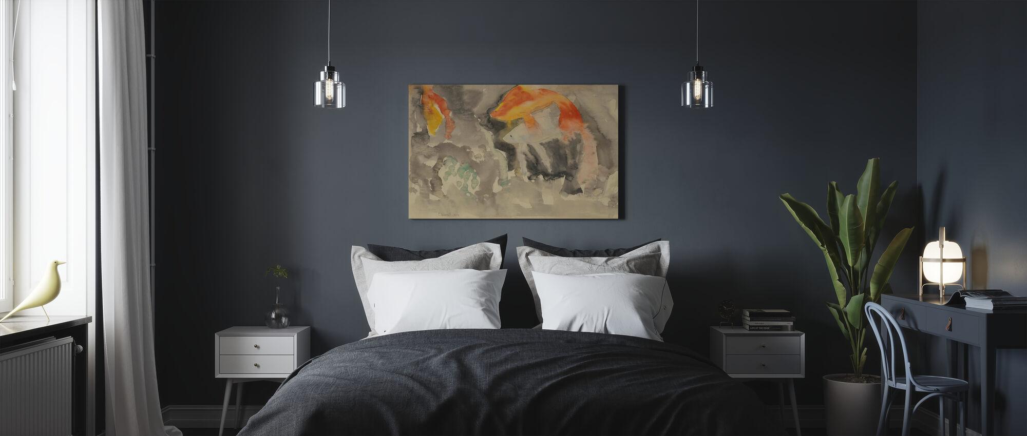 Fish Series No 5 - Charles Demuth - Canvas print - Bedroom