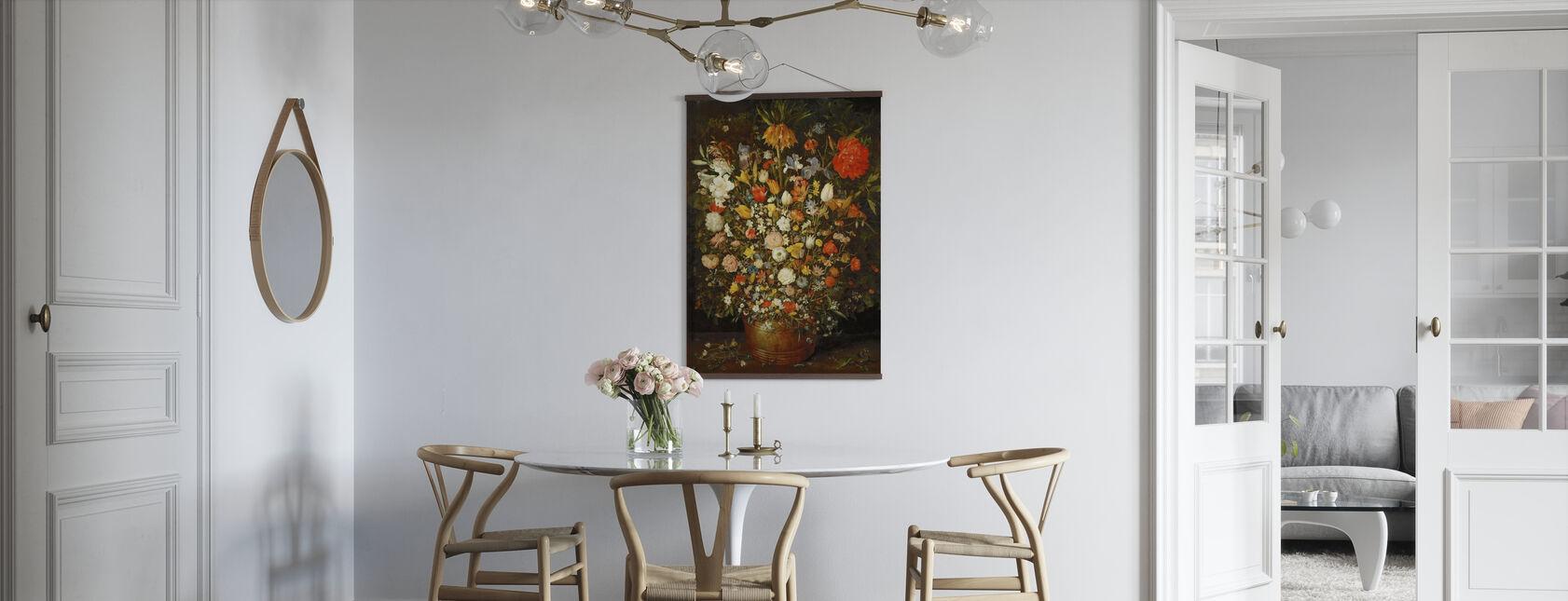 Bukiety kwiatów - Pieter Bruegel - Plakat - Kuchnia
