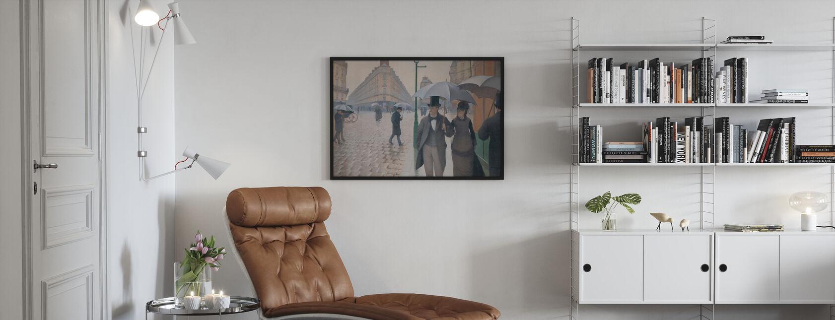 Via Parigi - Gustave Caillebotte - Poster - Salotto