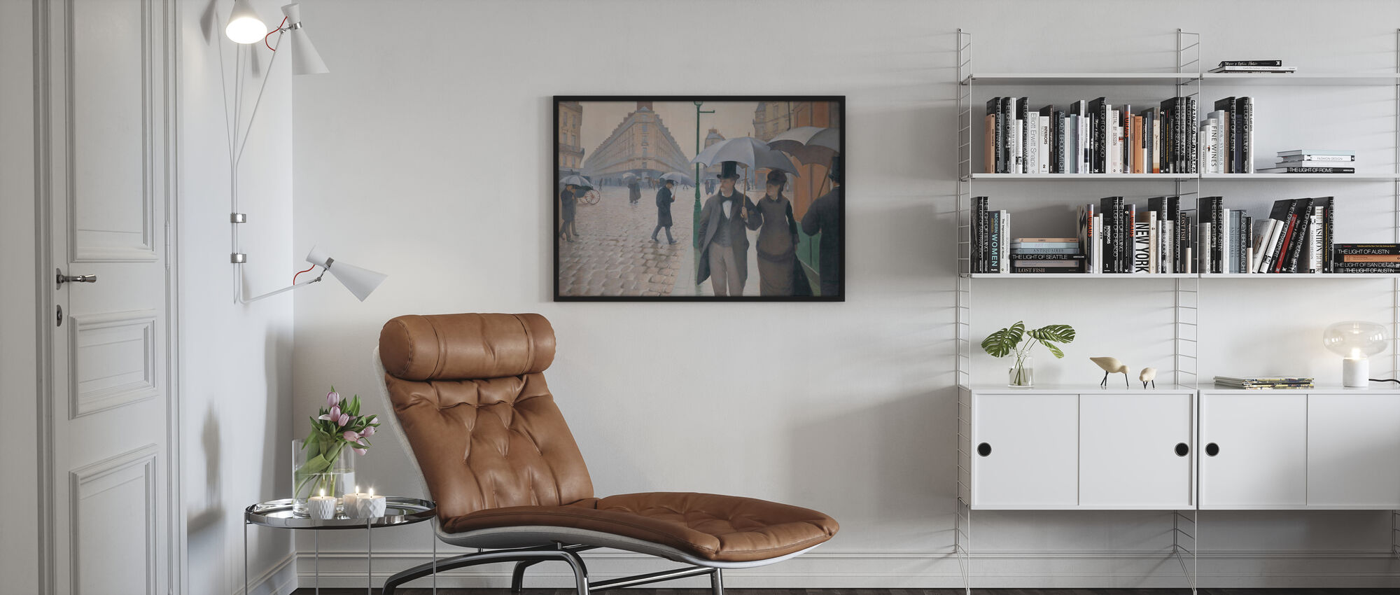 Paris Street - Gustave Caillebotte - Poster - Vardagsrum