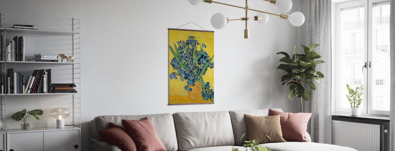 Iris - Vincent Van Gogh - Affiche - Salle à manger