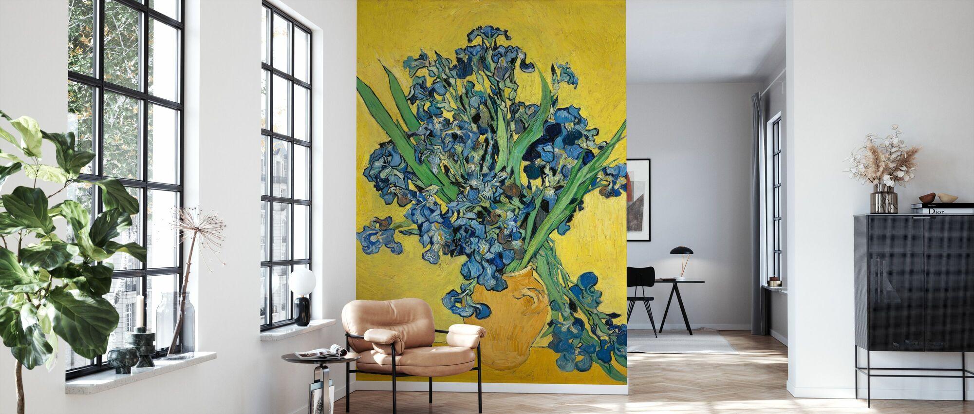 Irissen - Vincent Van Gogh - Behang - Woonkamer