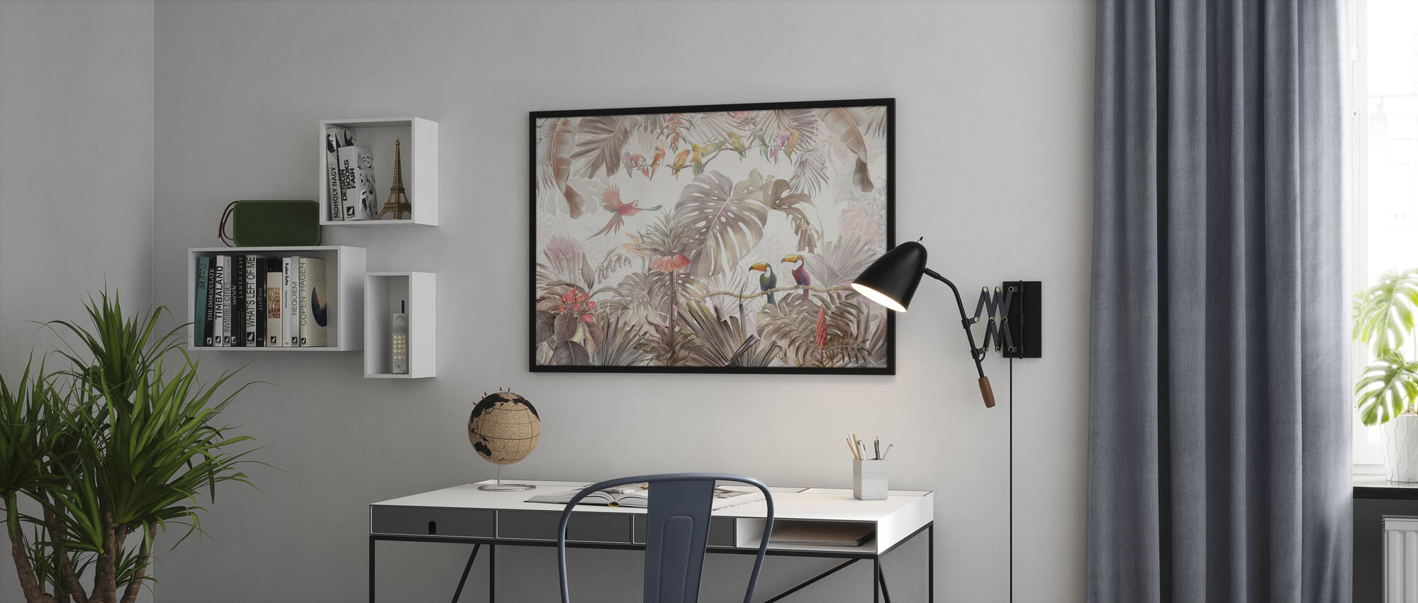 Tropical Birds - Poster - Office