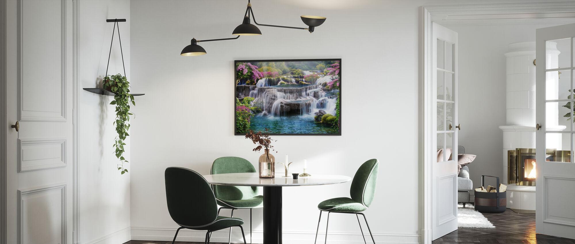 Tropisk vandfald - Plakat - Køkken