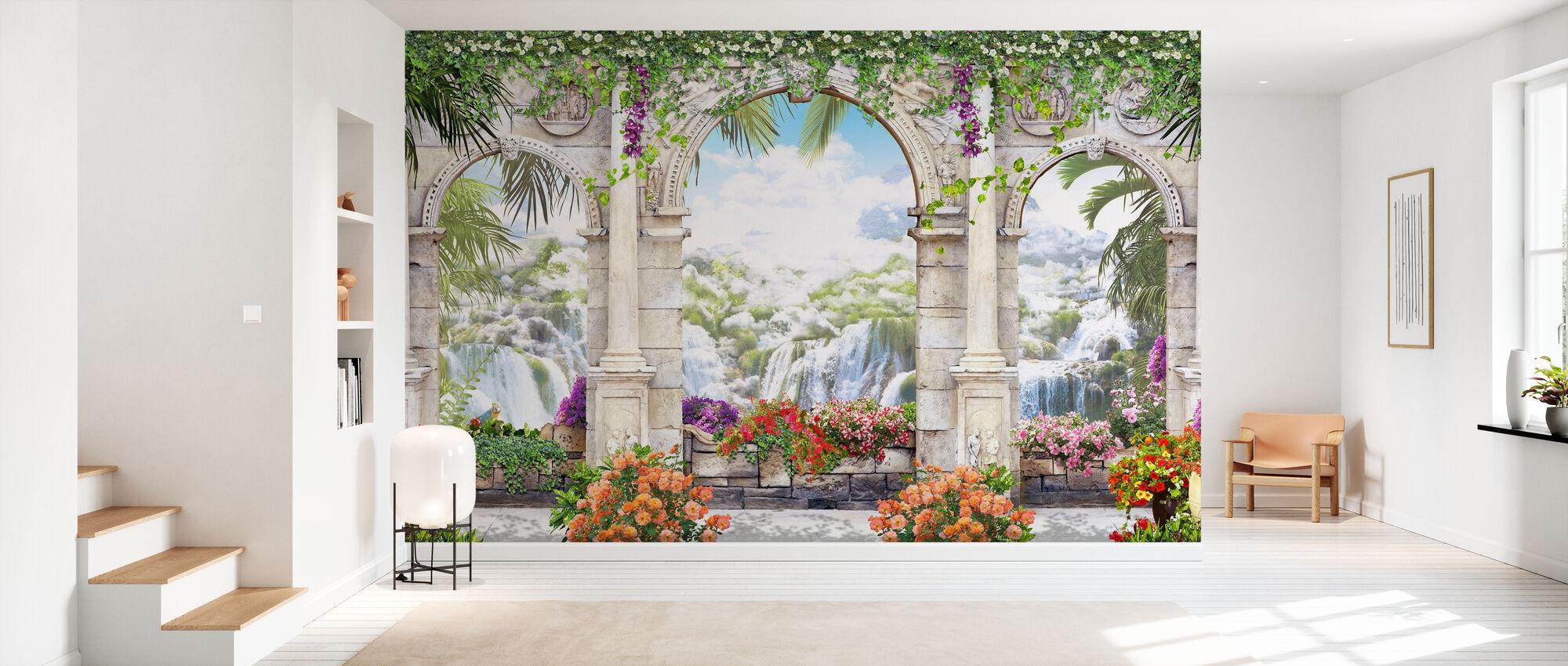 Romantic Waterfalls - Wallpaper - Hallway