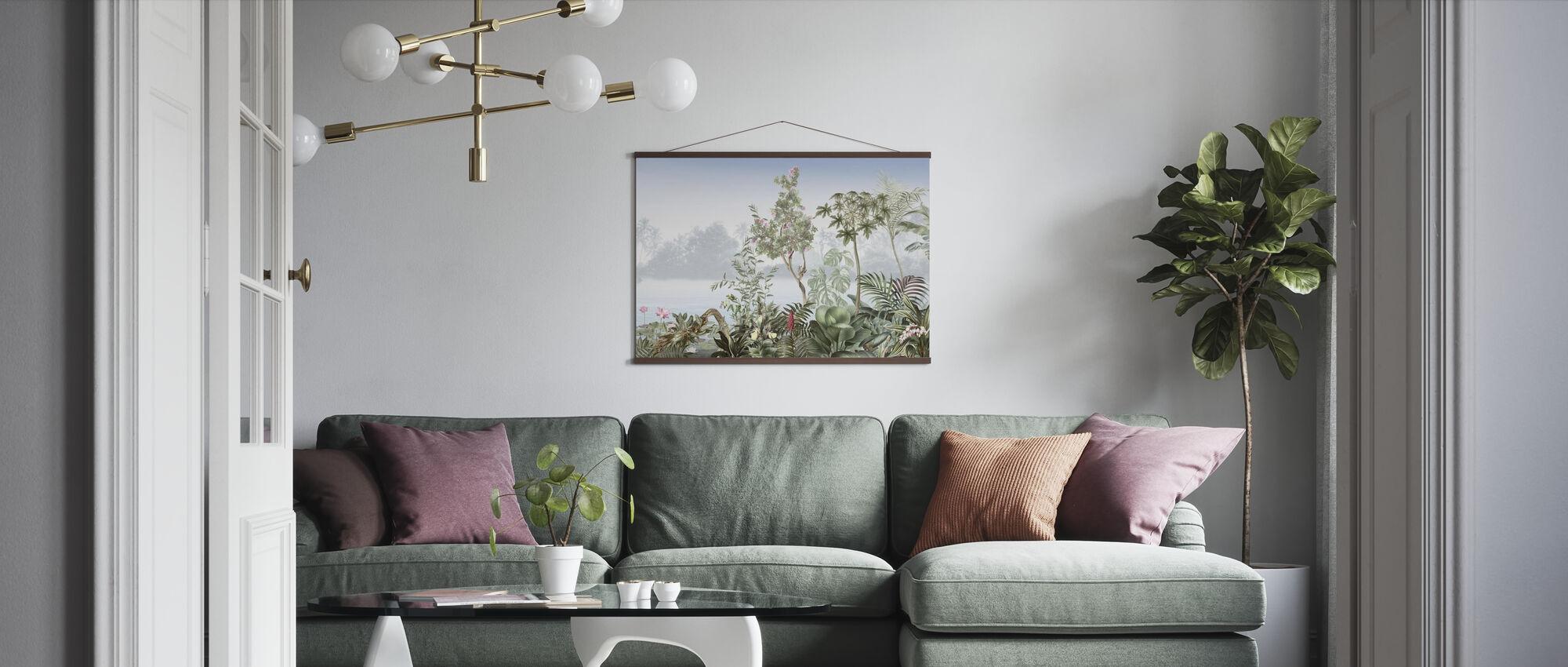 Tropiska träd - Poster - Vardagsrum