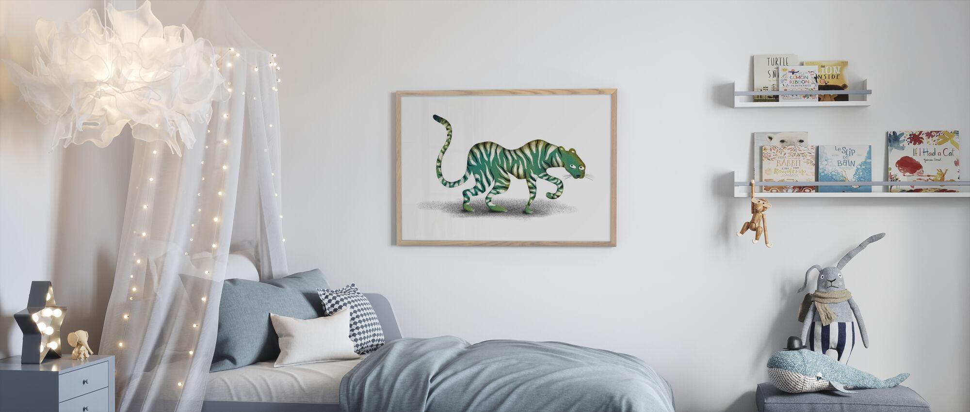 Mystic Jungle animal - Poster - Kids Room