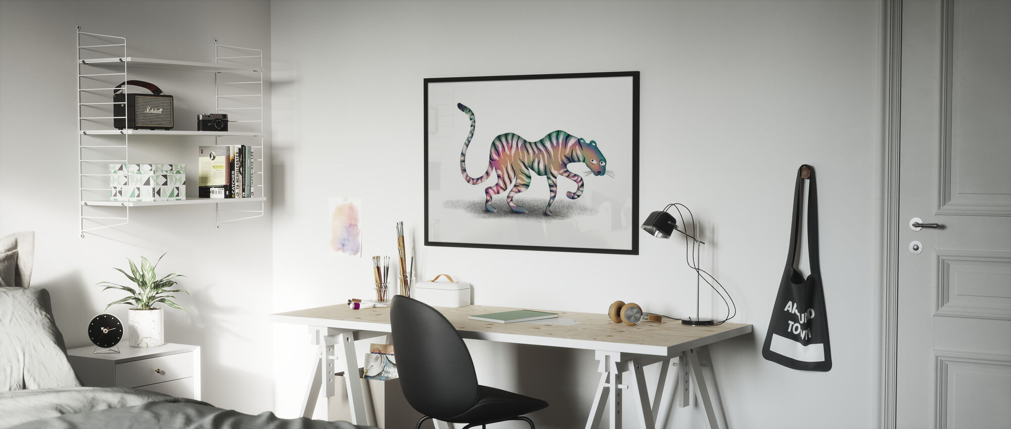 Super Mystic Jungle Animal - Poster - Kids Room