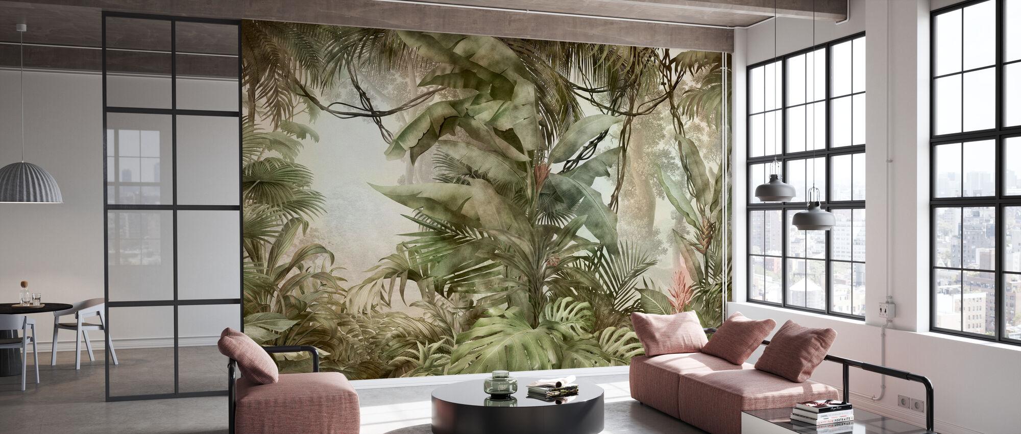 Deep Tropical - Wallpaper - Office