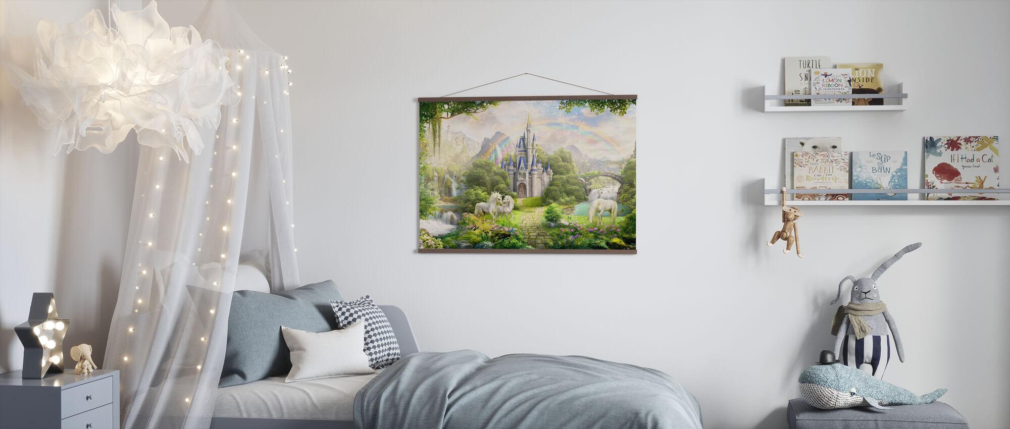 Unicorns Residence - Poster - Kids Room