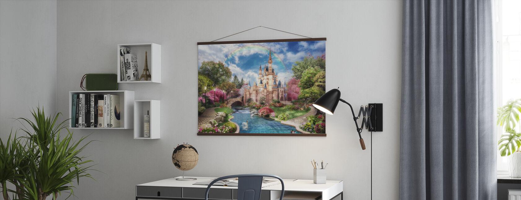 Magisches Schloss - Poster - Büro