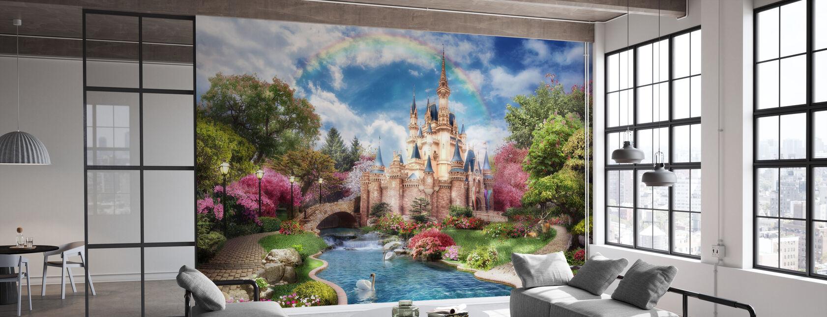 Magisch kasteel - Behang - Kantoor