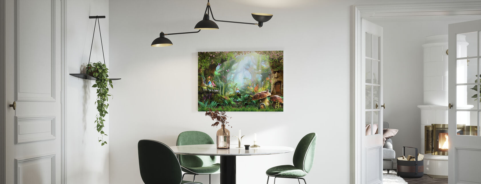 Enchanted Forest - Canvas print - Kitchen