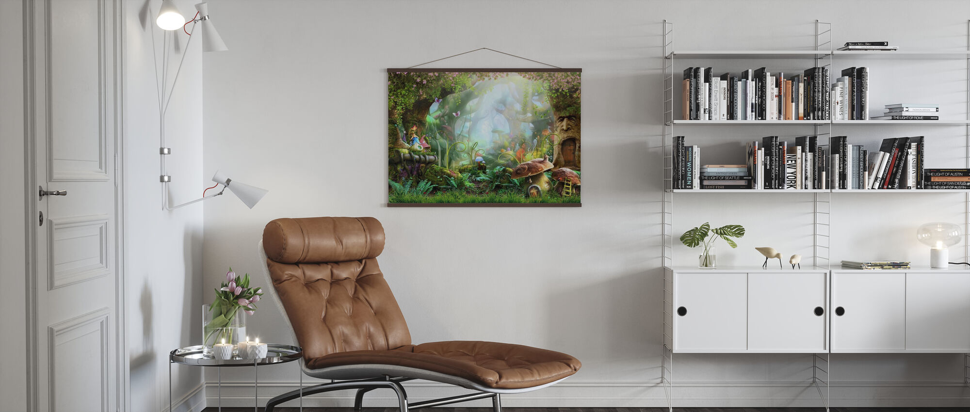 Enchanted Forest - Poster - Living Room