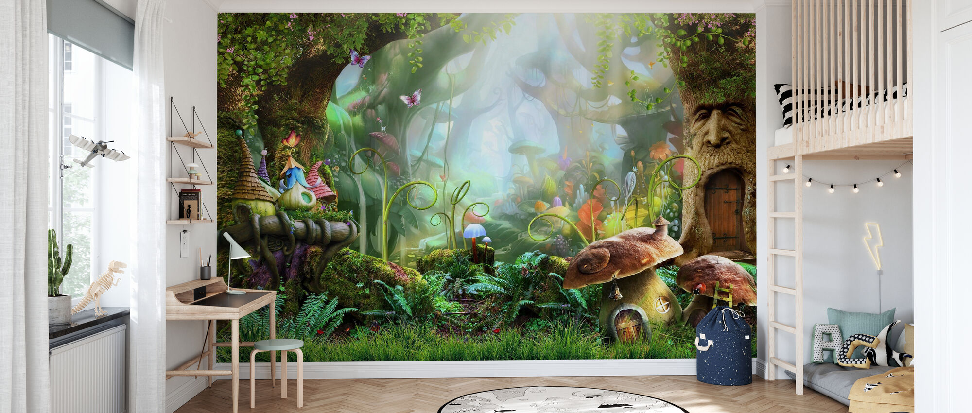 Enchanted Forest - Wallpaper - Kids Room