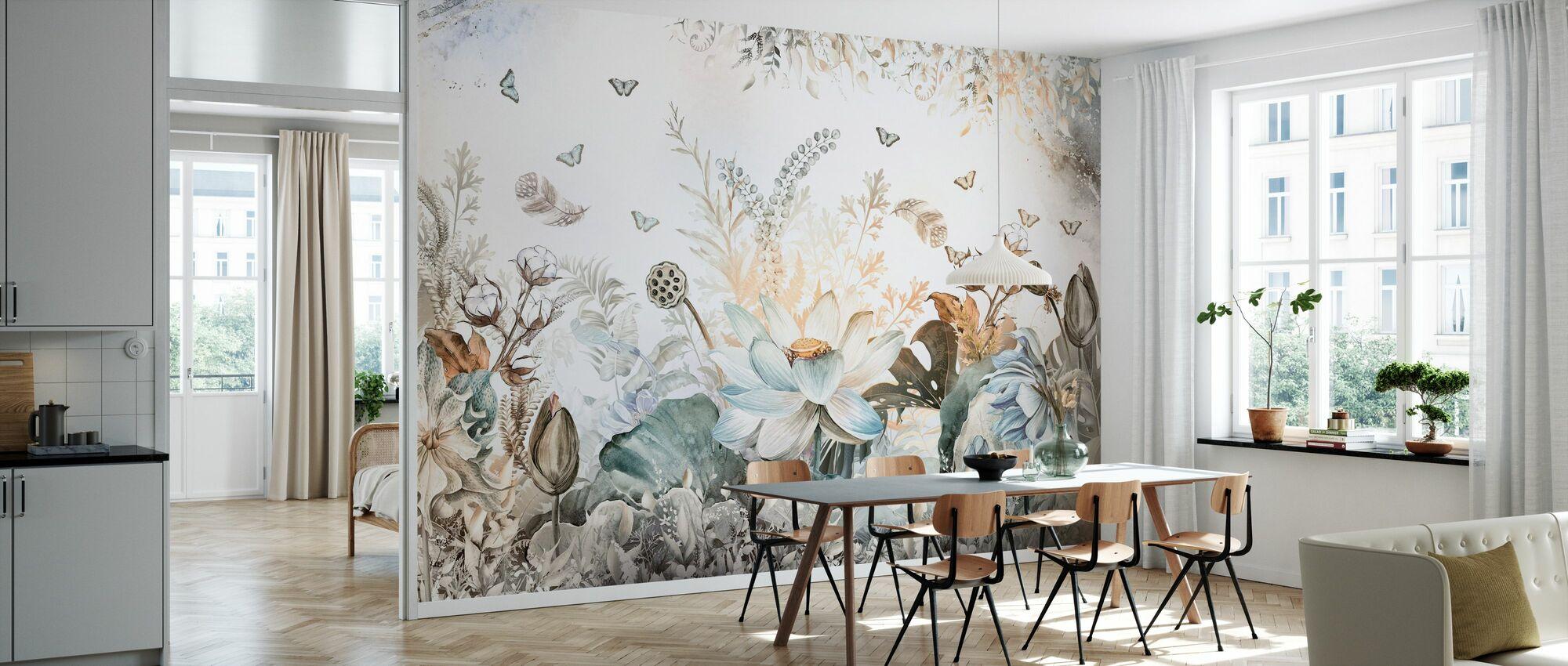 Beautiful Blossom - Wallpaper - Kitchen