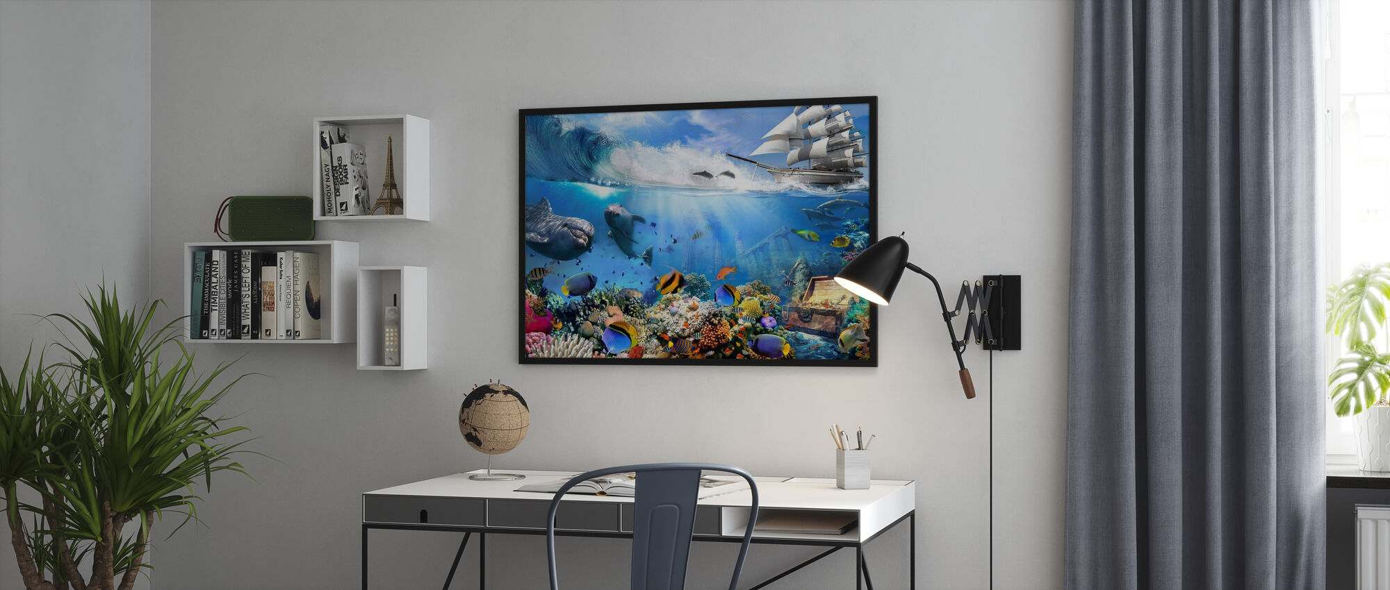 Fantasy Aqualife - Poster - Büro