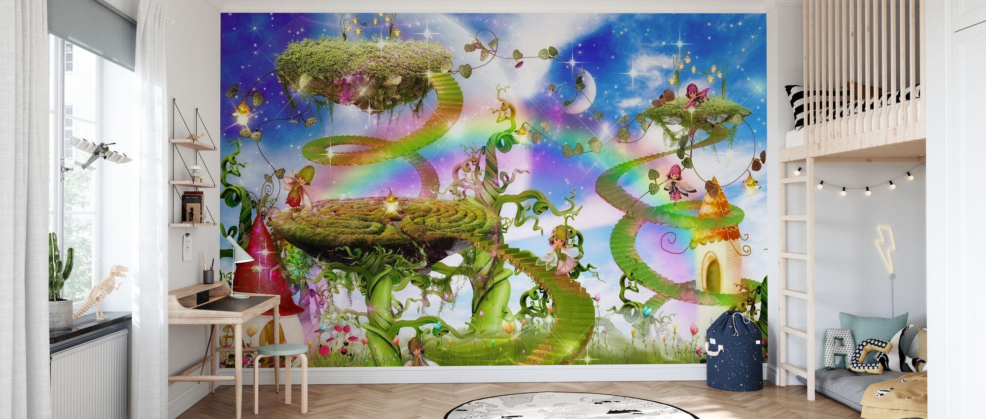 Magic Rainbow - Wallpaper - Kids Room